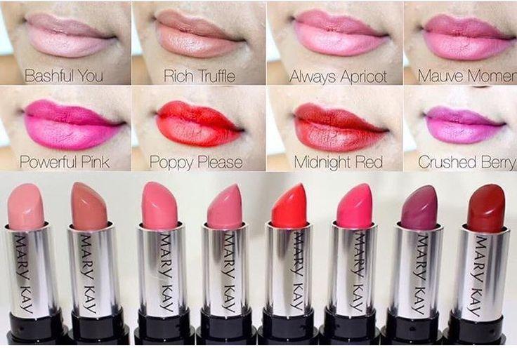 New Mary Kay semi matte gel lipstick!  www.marykay.com/lquashnock