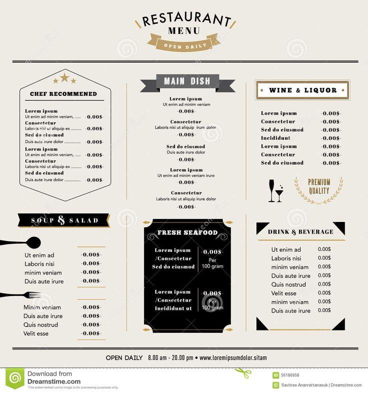 Best images about menu board design on pinterest web