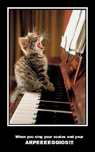 When you sing your scales and your ARPEEEEGGIOS!!! - The Aristocats