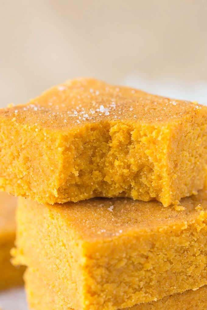 Healthy Three Ingredient No Bake Pumpkin Fudge- Delicious, soft and takes less than FIVE minutes to whip up- It's low fat, high fiber and very low in sugar! {Vegan, gluten free, Whole 30, Paleo friendly}