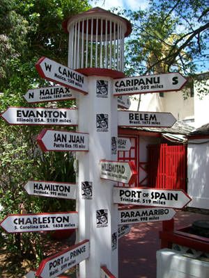 The Crossroads, Philipsburg, St, Maarten