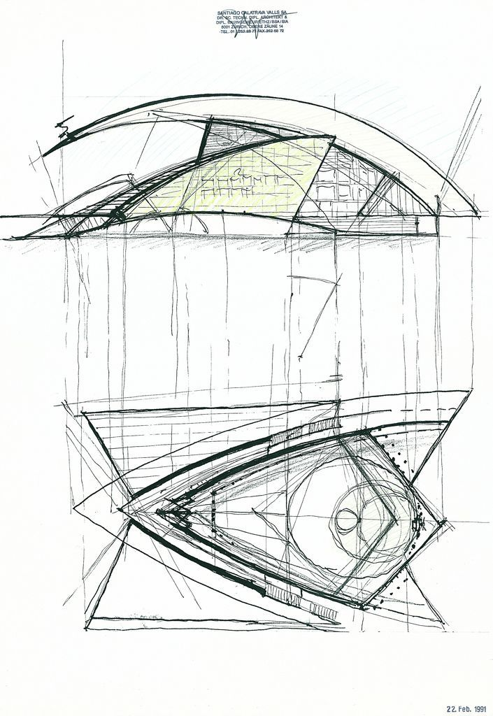 Architecture Design Drawing Sketch 18 best calatrava sketches images on pinterest | architecture