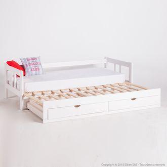 oltre 1000 idee su lit sommier matelas su pinterest canap d angle molle del letto e negozi. Black Bedroom Furniture Sets. Home Design Ideas