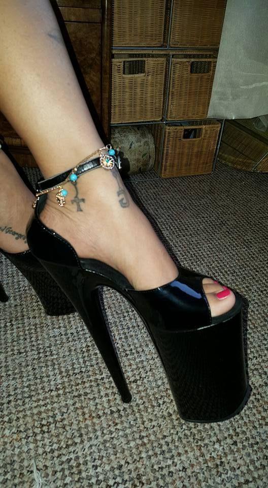 "bimbotrainingacademy: ""A favorite pair of shoes at the Bimbo"