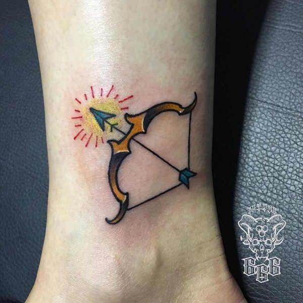 Tatuaże Ze Znakami Zodiaku Strzelec Znaczenie Historia