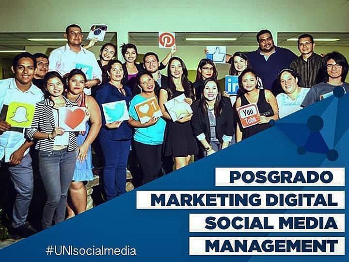 #Posgrado especialista #MarketingDigital #SocialMedia #Managua #Nicaragua  #Iot #Bigdata #RSE #Neuromarketing #ecommerce #inboundMarketing #contentMarketing #Branding #Wordpress #Email #Marketing #SEO #SEM #Adwords #Analitycs by uni.socialmedia