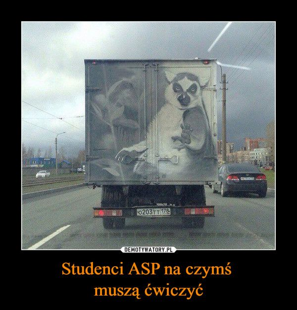 Studenci ASP na czymś muszą ćwiczyć –