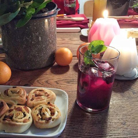 Begrüßungscocktail mit wilden Blaubeeren - Kochwerkstatt mit Tante Fanny