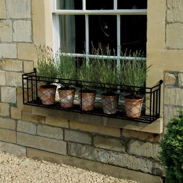 garden window boxes metal 2
