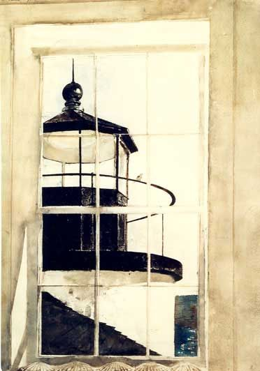 1980 Window Light by Andrew Wyeth