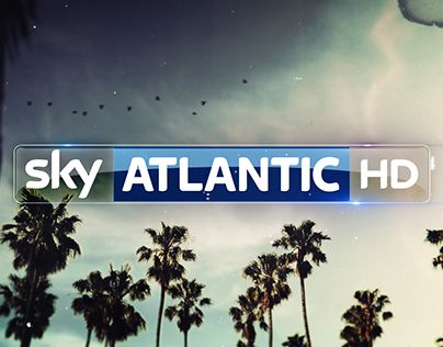 """Check out new work on my @Behance portfolio: """"Sky Atlantic """"Vintage"""" Ident"""" http://on.be.net/1GHaCN0"""