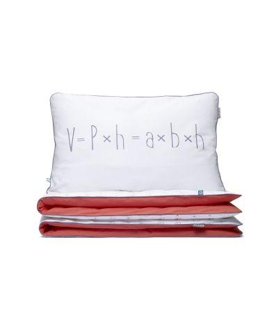 Dwustronna pościel w której ukryły się wzory matematyczne. Przydatna do powtórek przed klasówką. JUŻ OD 179 PLN.