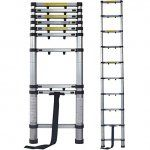 Terratek 2.9m Telescopic Extendable Ladder 39.95  6.95 delivery. @ Amazon (Dispatched from and sold by Futura Direct Ltd) 46.90