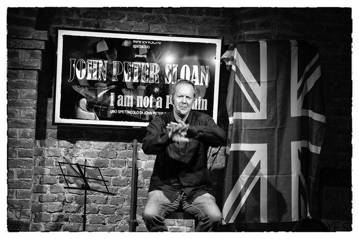 I am not a Penguin con John Peter Sloan!