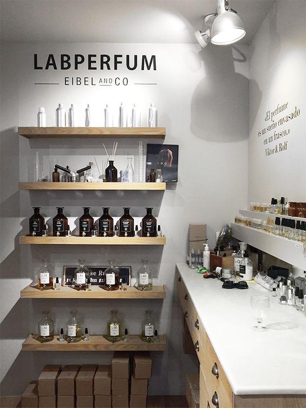 Osmothèque laboratory X Labperfum Barcelona