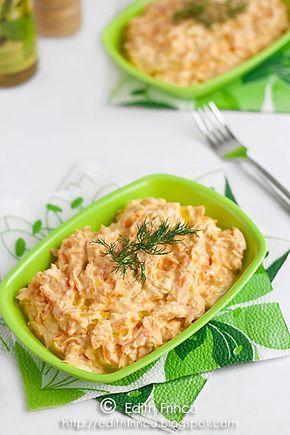 Edith's Kitchen: SALATA TURCEASCA CU MORCOVI