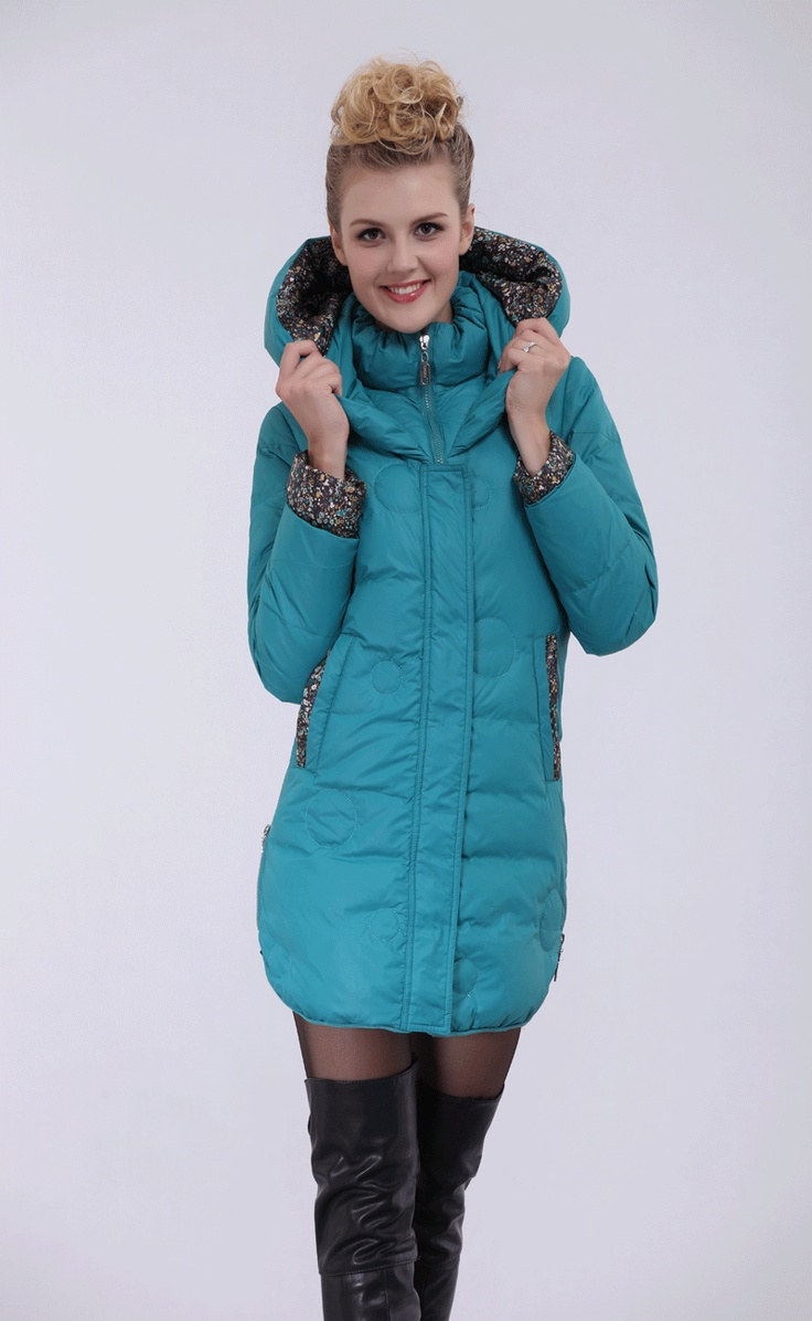 Free Shipping Custom Women White Down Coat Thickening Blue/Red/Black/Yellow,Winter Jackets Women Fashion Lady Down Jacket With A Hood Discount.Sale:$145.54.Filler:white duck down 81% - 90%.Material:ployester.Big Discount.
