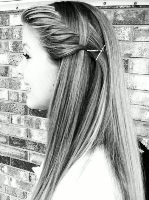 french fishtail braid...may be a fishtail waterfall french braid..if that is possible
