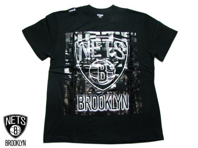 "【BROOKLYN NETS】 Tシャツ ""SHINE"" TEE ブラック S-2XL【半そで】【T-シャツ】【BLACK】【ブルックリン・ネッツ】【NBA】【バスケ】【NBA】【ヒップホップ】【スポーツ】【黒】【メンズ】【ビッグサイズ】【あす楽】【楽天市場】"