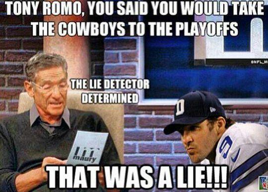 Hilarious Tony Romo | Tony Romo Memes