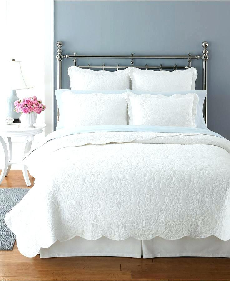 White Chenille Bedspread King Size White Bed Quilt Queen White Comforter For Sale White Bed Comforter Walmart Martha Stewart Collection Bedding White King Doona Cover White Quilts Bedding