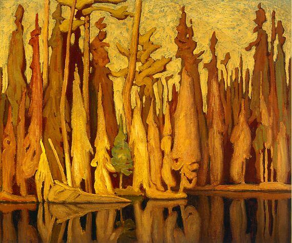 Northern Autumn c.1922 Lawren Harris