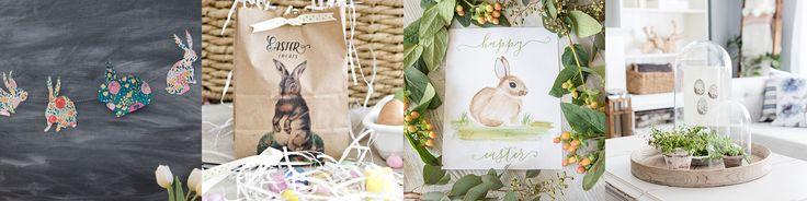 Easter Bunny Ears Cake | Free Printable