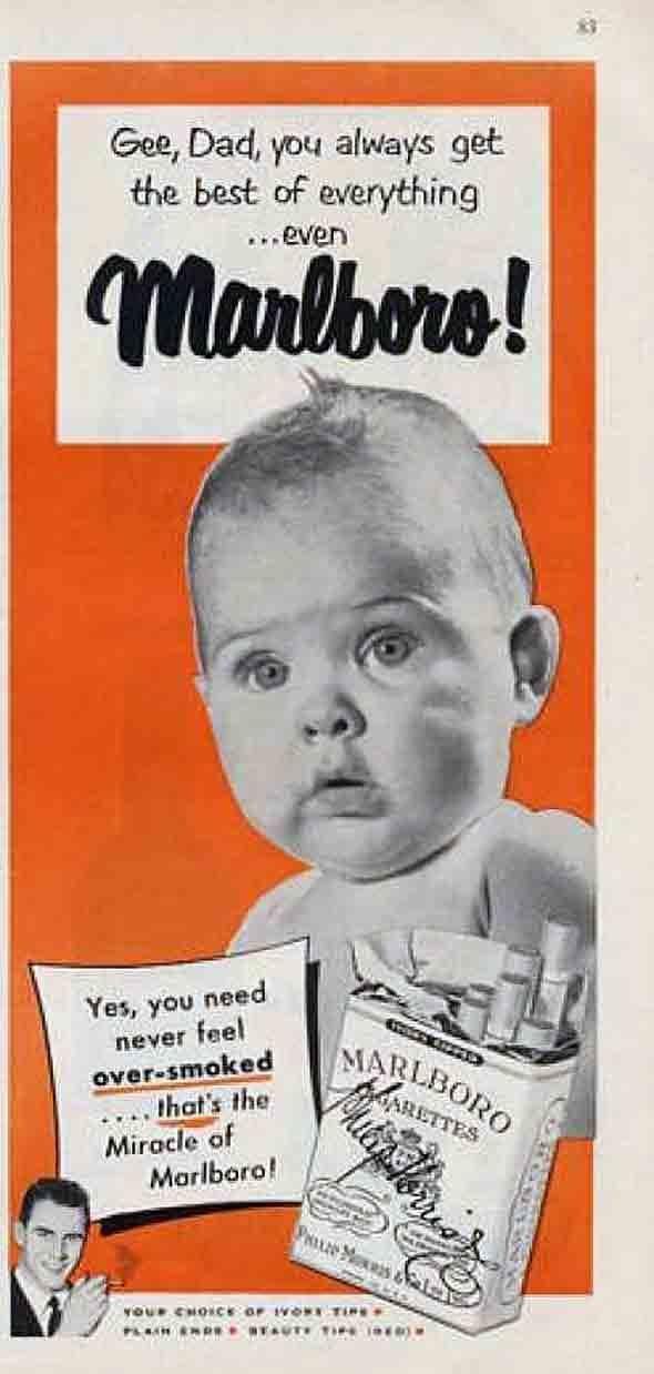 Philip Morris -- Marlboro Cigarettes (1951)