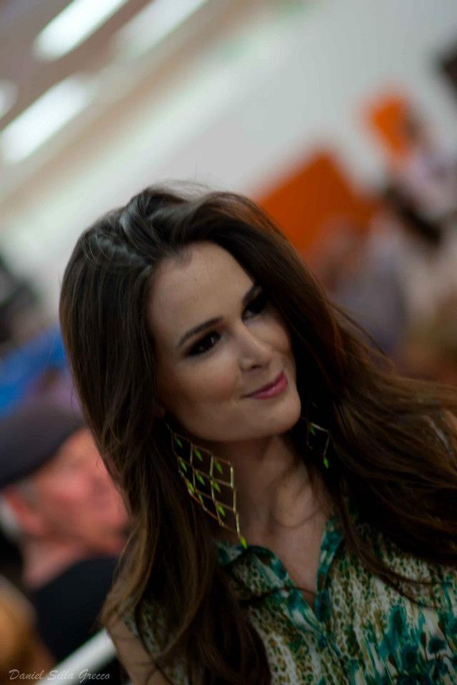 Miss Brasil 2011 Priscila Machado, no PFW 2012 em Porto Alegre