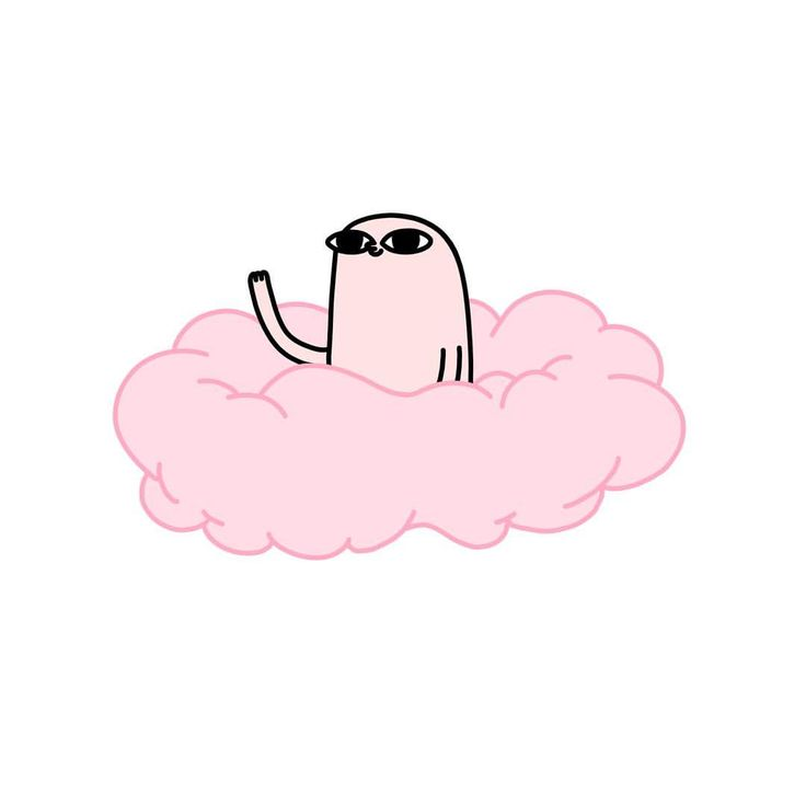 "15k Likes, 167 Comments - Ketnipz (@ketnipz) on Instagram: ""Just a bean on a pink cloud, saying hi ... that's all """