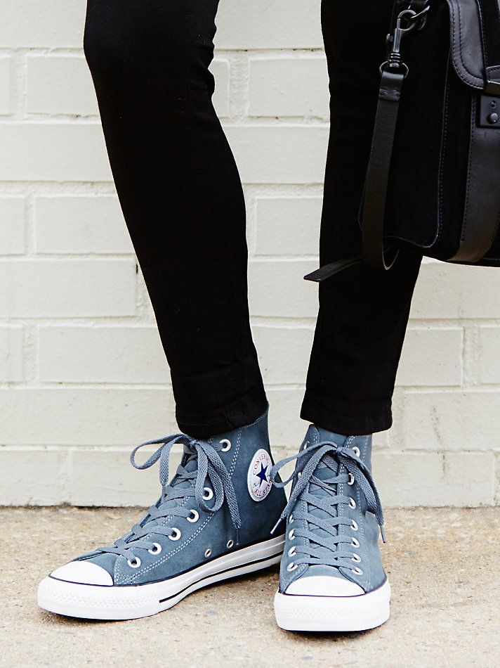 Converse Suede Hi Top Chucks at Free People Clothing Boutique