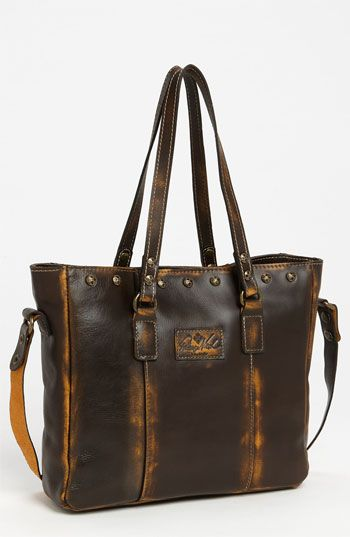 I am loving the burnished rustic leather on this tote! Must have!!!Patricia Nash 'Gava - Small' Tote available at #Nordstrom