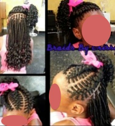 Astonishing 1000 Ideas About Kids Braided Hairstyles On Pinterest Cornrows Short Hairstyles For Black Women Fulllsitofus
