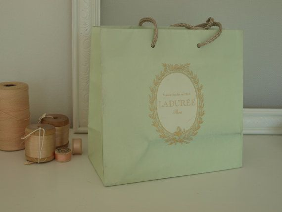 LADUREE bag and DIPTYQUE packaging boxes from by hellolovelyinc, $15.00
