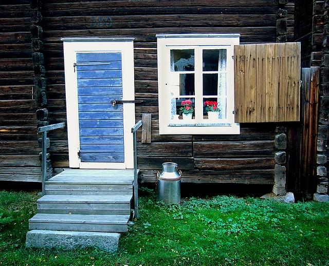 17th century house in Skelleftea, Sweden