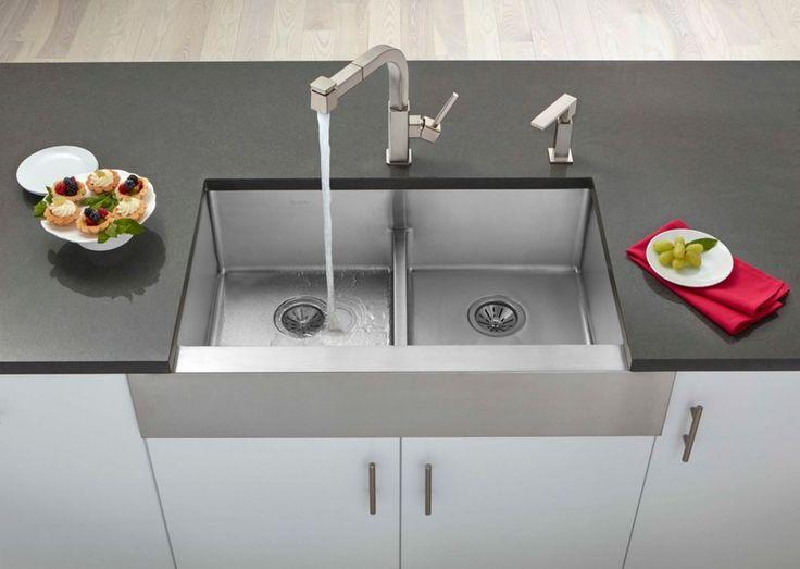18 Best Kitchen Sinks Images On Pinterest  Granite Kitchen Sinks Entrancing Sink Kitchen Design Ideas
