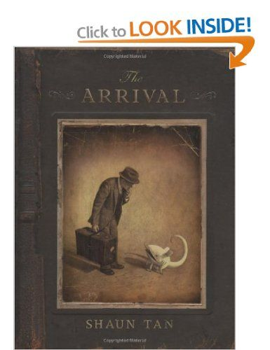 The Arrival by Shaun Tan What drives so many to leave everything behind and journey alone to a mysterious country, a place without family or friends, where everything is nameless and the future is unknown. This silent graphic novel is the story of every migrant, every refugee, every displaced person, and a tribute to all those who have made the journey.