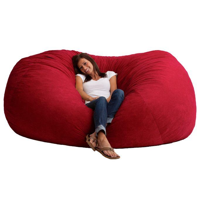Modern Fuf Bean Bag Sofa | AllModern
