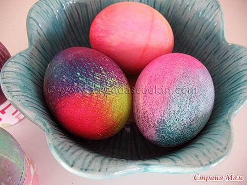 КРАСИМ яйца по НОВОМУ.