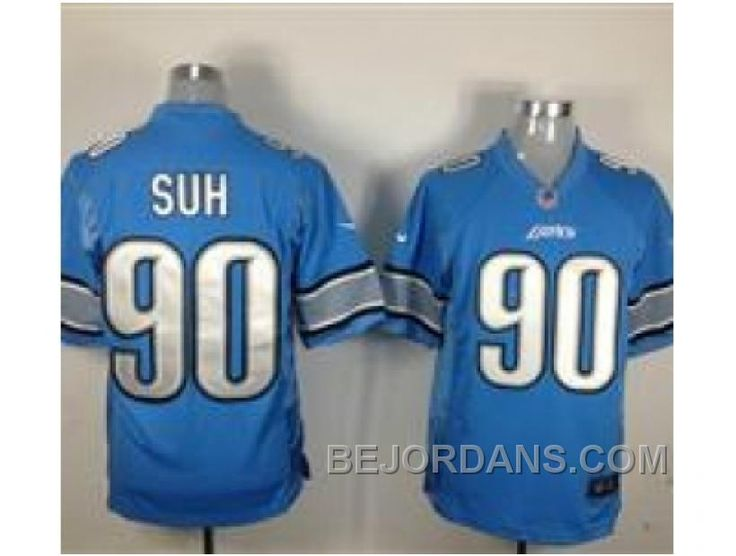 http://www.bejordans.com/free-shipping-60-off-nike-nfl-detroit-lions-90-ndamukong-suh-blue-game-jerseys.html FREE SHIPPING ! 60% OFF! NIKE NFL DETROIT LIONS #90 NDAMUKONG SUH BLUE GAME JERSEYS Only $20.00 , Free Shipping!