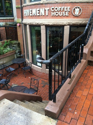 Pavement Coffee House in Boston. - Could build coffee shop into basement of property with first floor as community space