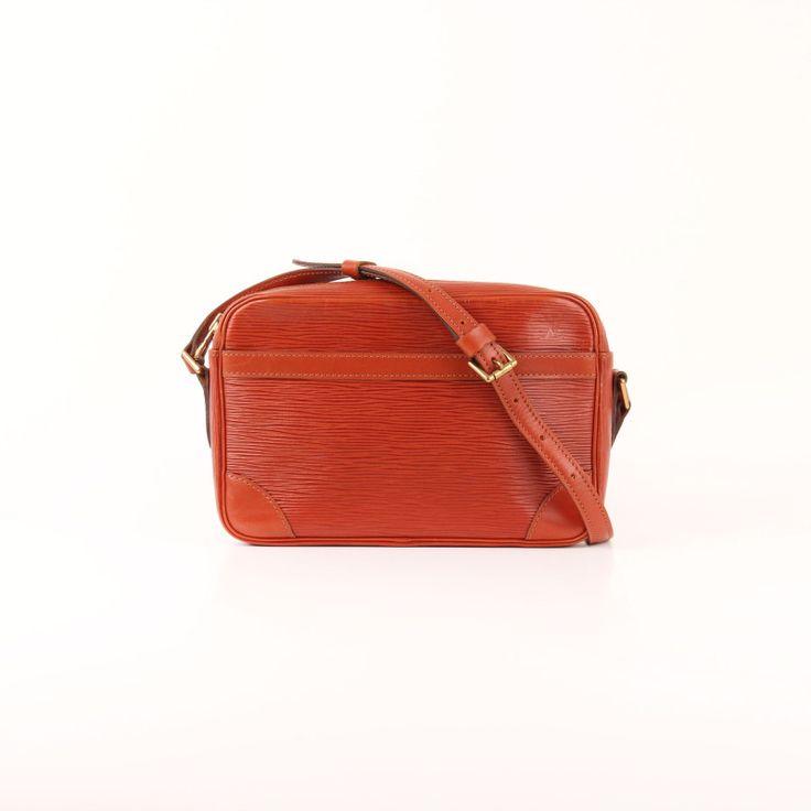 Louis Vuitton Trocadéro 24 Épi Strap Bag.