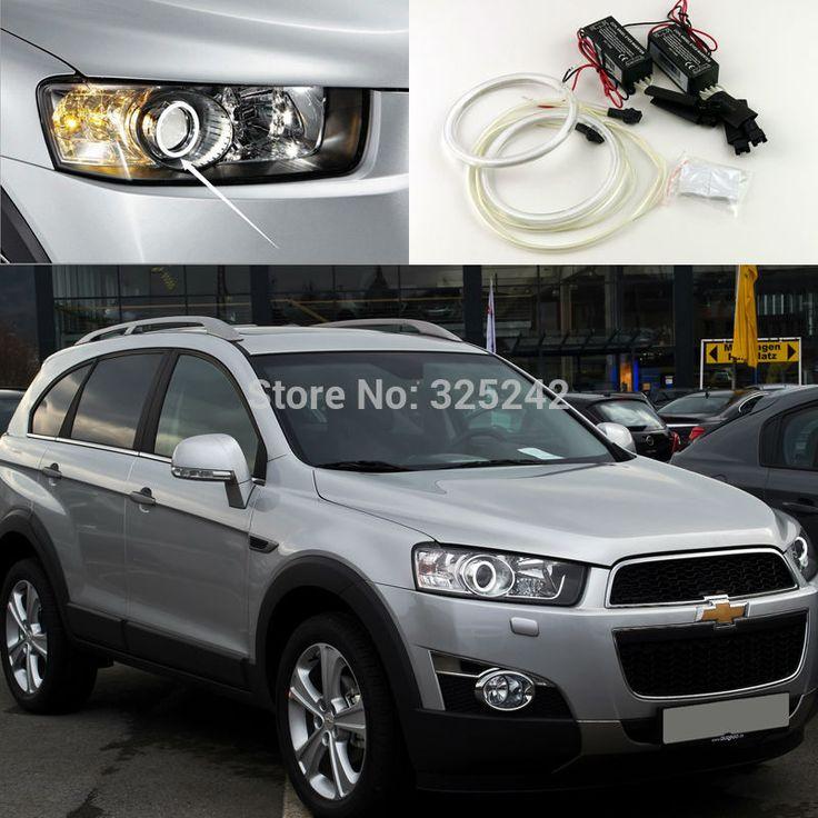 For Chevrolet Captiva 2012 2013 2014 2015 2016 Excellent angel eyes Ultrabright illumination CCFL Angel Eyes kit Halo Ring