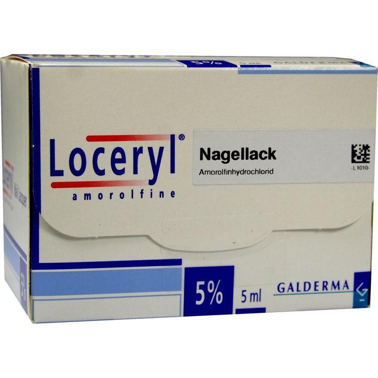 LOCERYL Nagellack gegen Nagelpilz:   Packungsinhalt: 5 ml Wirkstoffhaltiger Nagellack PZN: 00017377 Hersteller: kohlpharma GmbH Preis:…