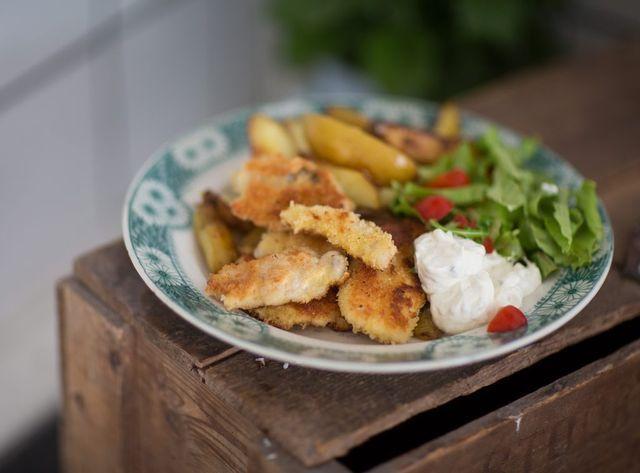 Mitt bästa recept på fiskpinnar / fish and chips