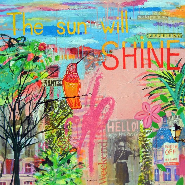 The Sun Will Shine - http://www.contemporary-artists.co.uk/paintings/the-sun-will-shine/