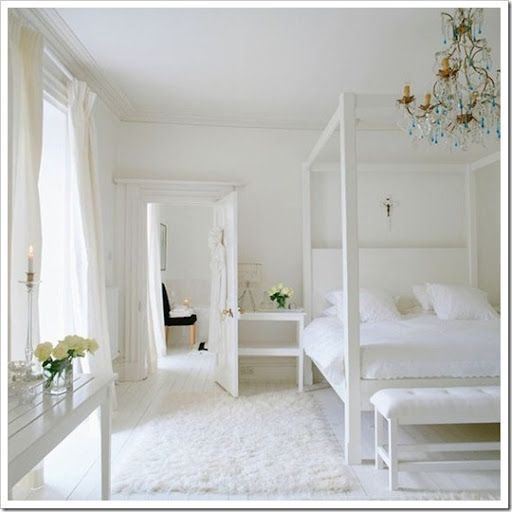 Best Chloe At Home Inspiring All White Rooms All White 400 x 300