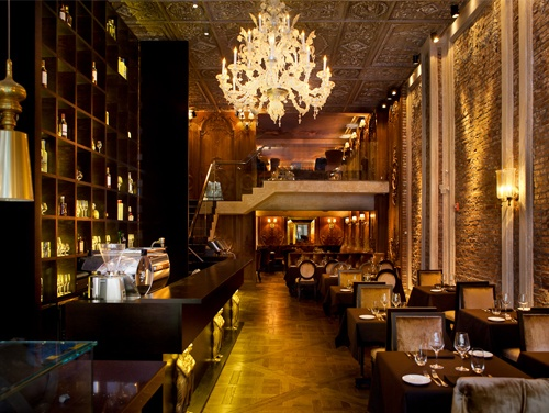 Brasserie Pushkin - An extravagant new Russian restaurant in midtown. Looks so opulent! (Russian/Midtown West)