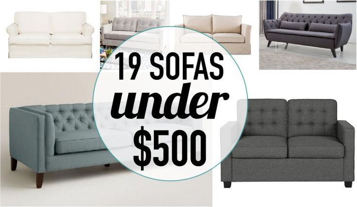 You don't have to spend a fortune on a new couch. These sofa deals are amazing! There are 19 affordable couches on this list and they don't skip on style!