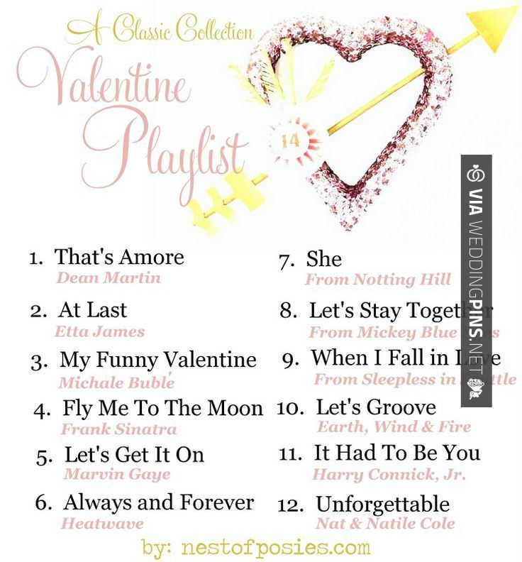 Wedding Songs 2016 A Valentine Playlist Via Nest Of Posies